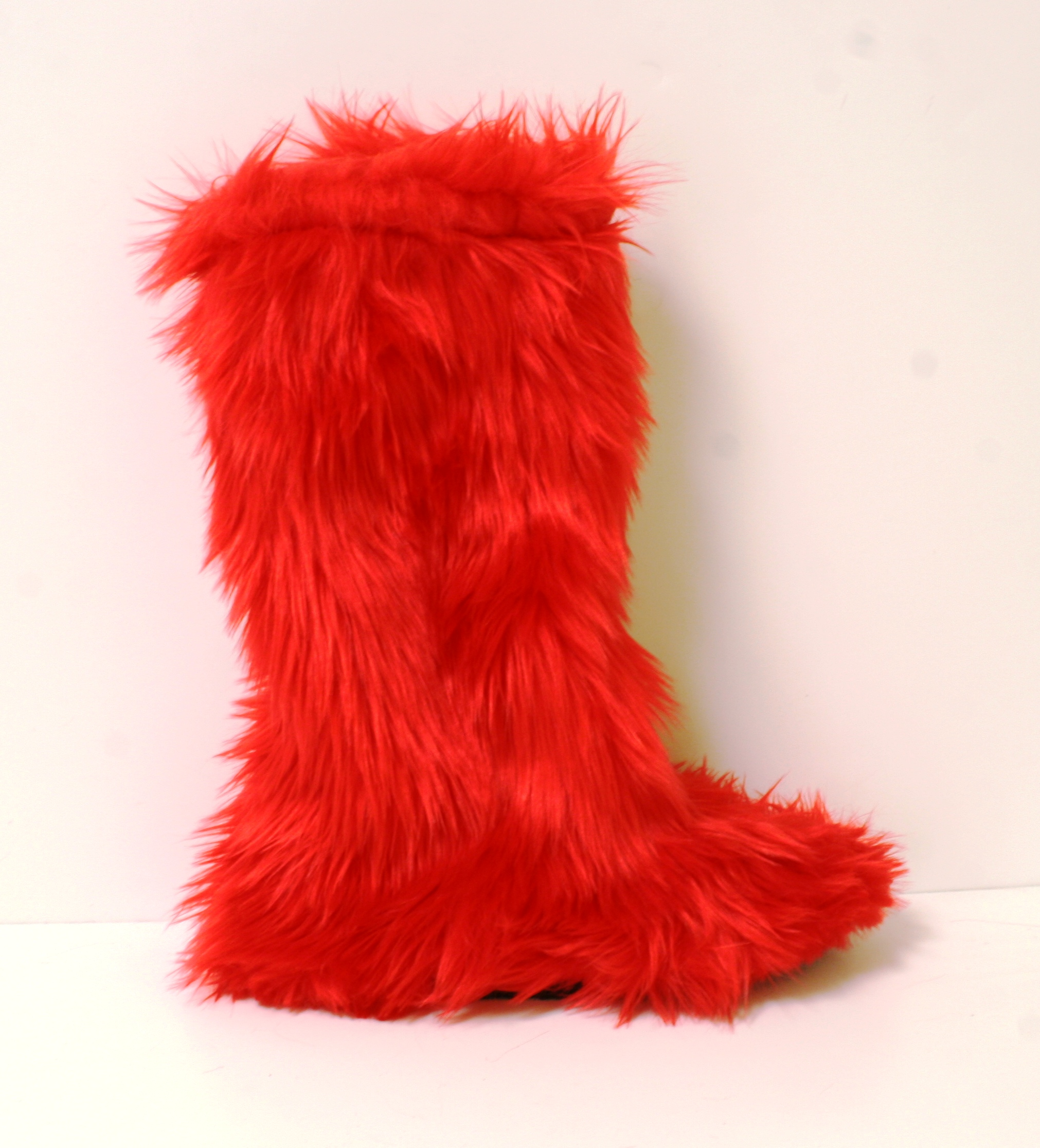 Furry Boots Explicit Shoes Inc